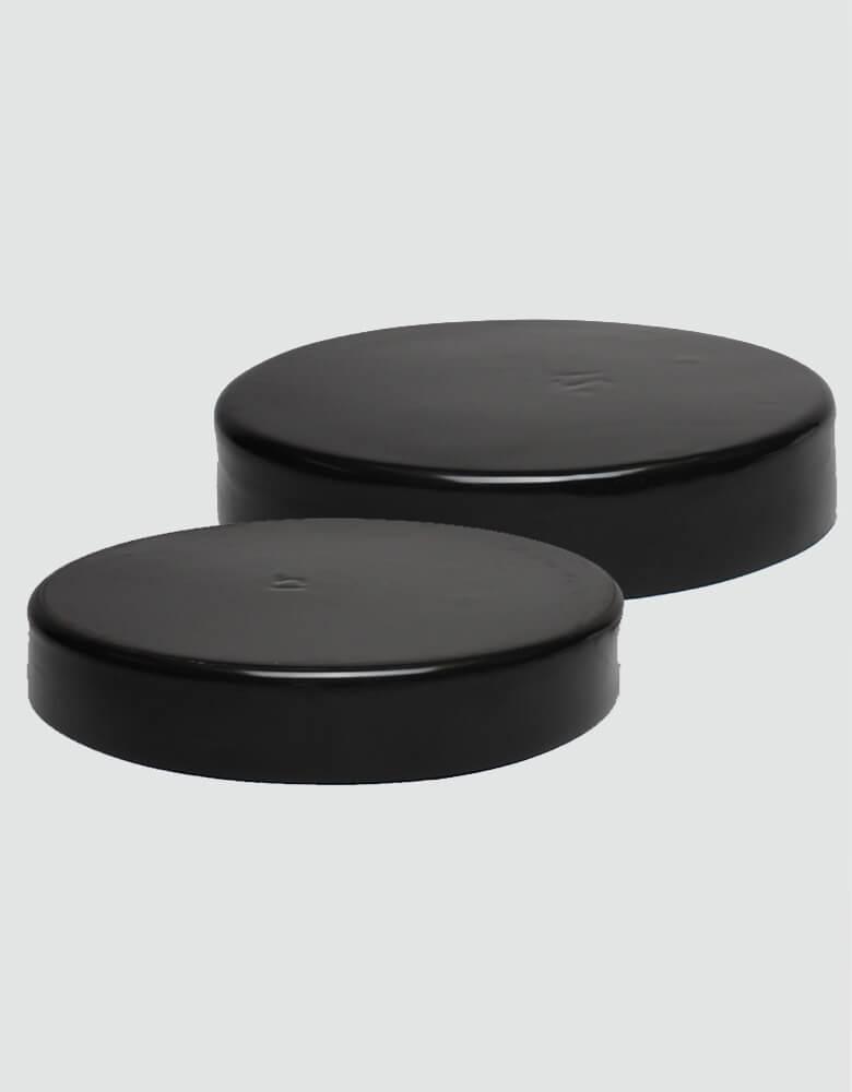Black Flat Pile Cap
