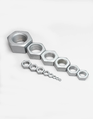 PARENT GALVANIZED HEX NUTS